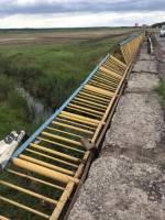 Троицкий мост через реку Гнилой Еланецв Николаевской области находится в аварийном состоянии — ограждение буквально обвалилось