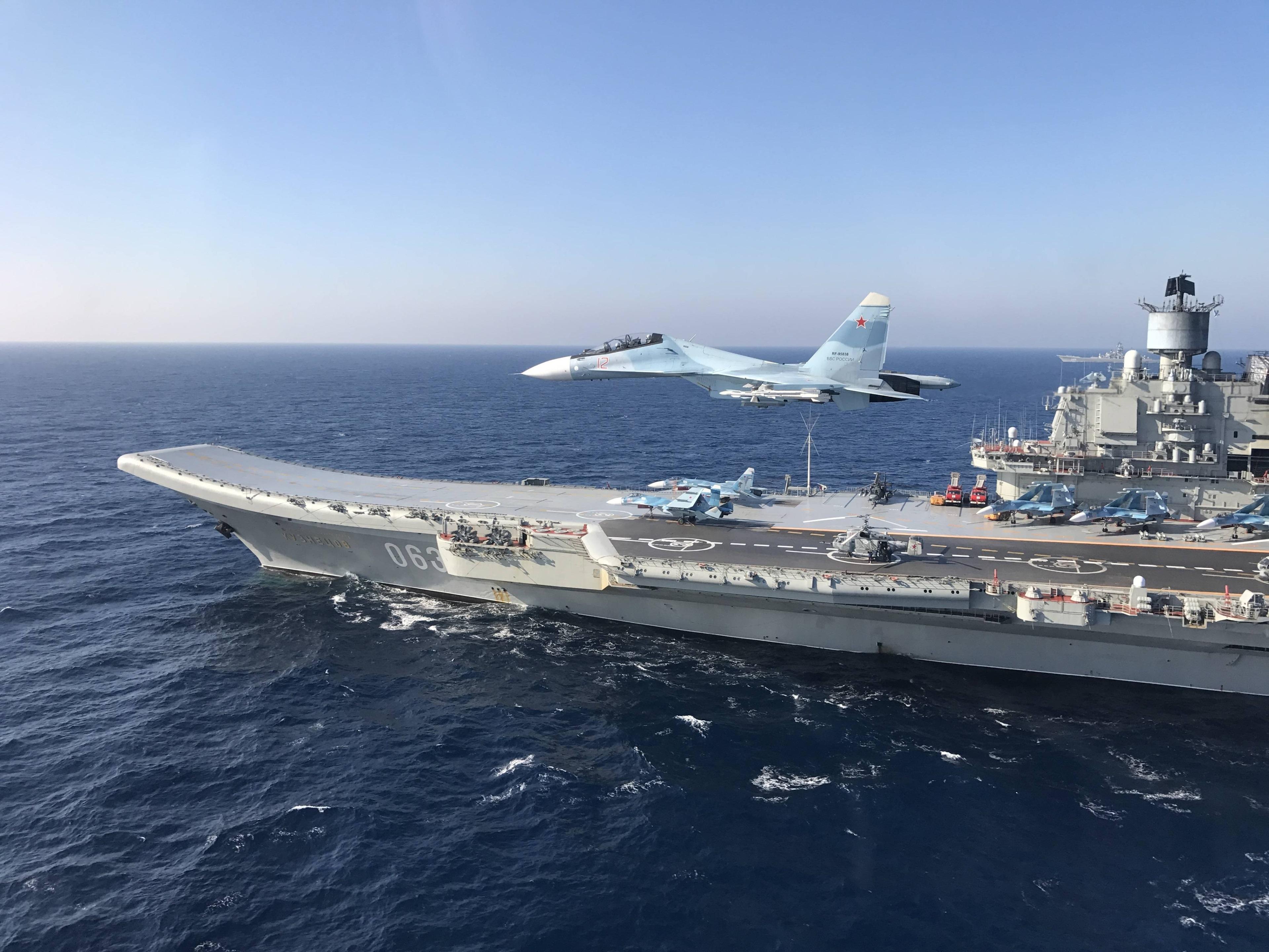 картинки российских авианосцев расположение вблизи теллермановского