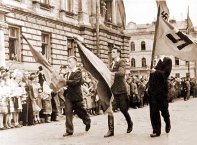 """А это твои предки из СС """"Галичина"""" встретили начало войны 1941"""
