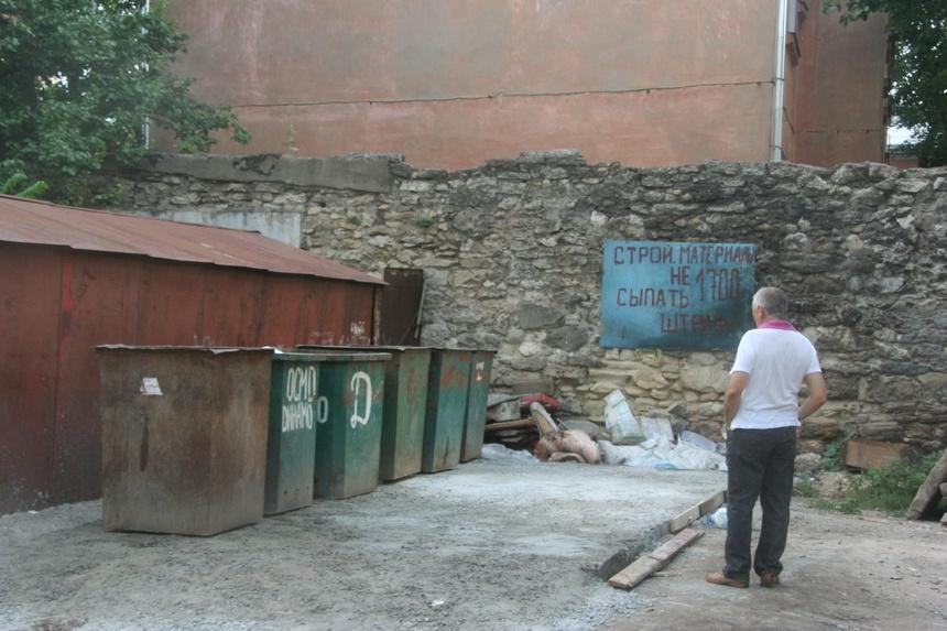 Перенести мусорные баки как сделать сайт 911