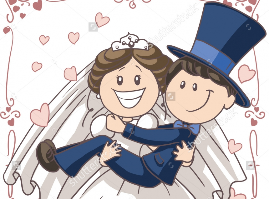 Картинки жених и невеста смешные, спокойной