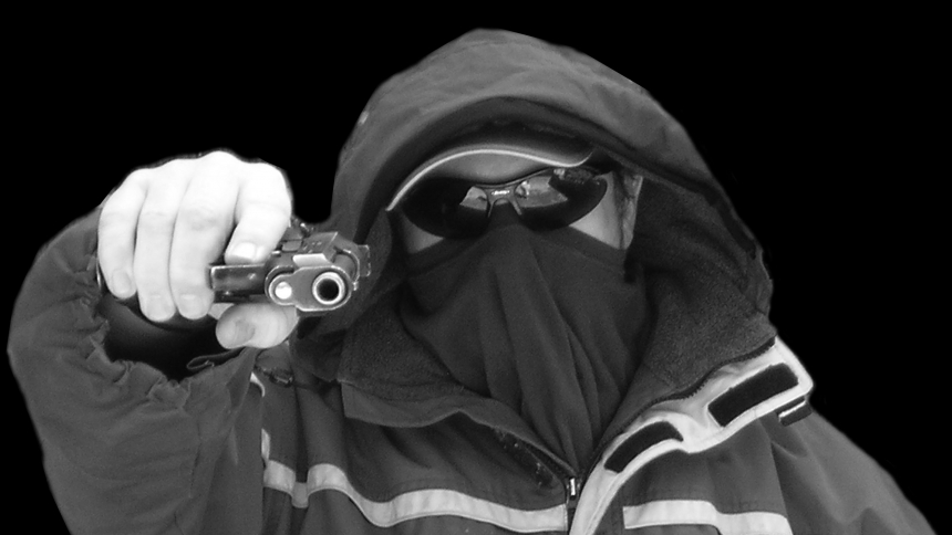 Бандит в маске картинки на аву