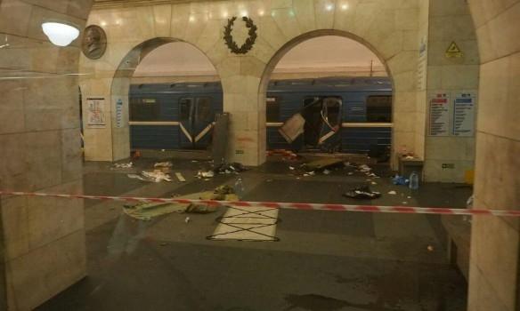 частное видео взрыва в метро