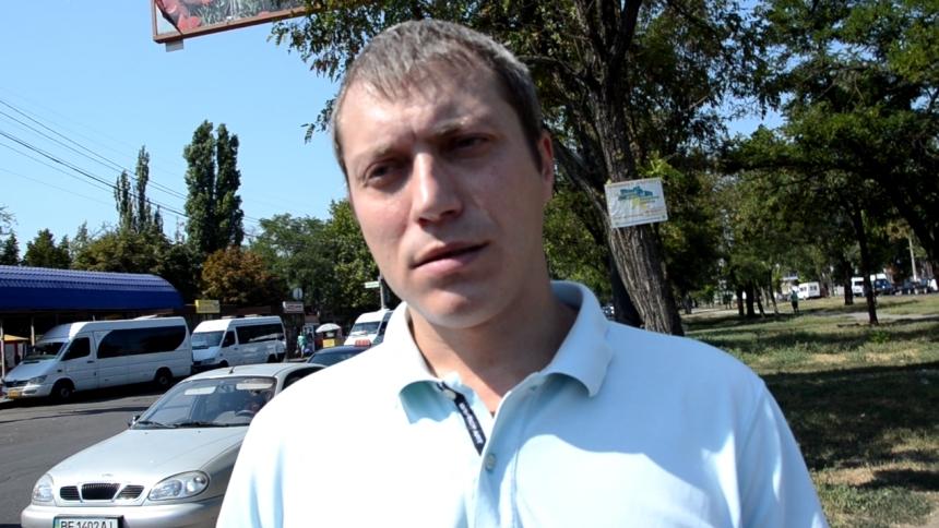 В Николаеве стреляли в активиста Дениса Барашковского Иван Выговский