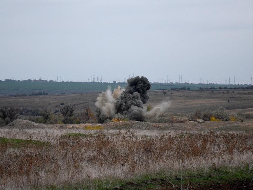 ВНиколаевском районе обнаружили неменее 60 снарядов иавиабомб