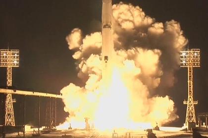 Ракета «Зенит» сангольским спутником стартовала сБайконура