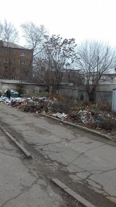 В Николаеве образовалась несанкционированная свалка (фото)
