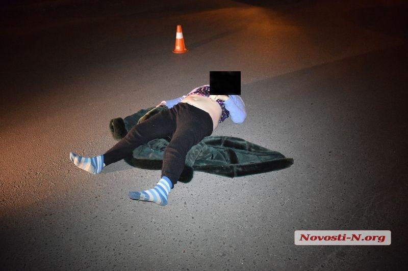 Внедорожник сбил насмерть женщину в Николаеве (фото) (видео) 18+
