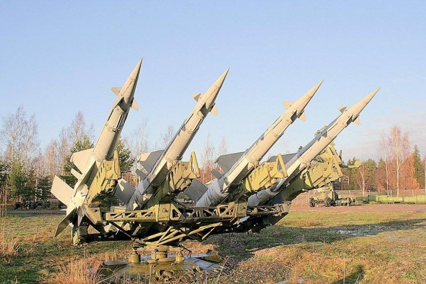 ВУкраинском государстве  благополучно  запустили ракеты изЗРК «Печора»