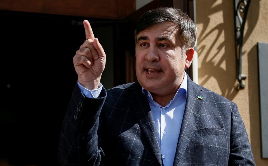 СБУ допрашивала Саакашвили 1.5 часа