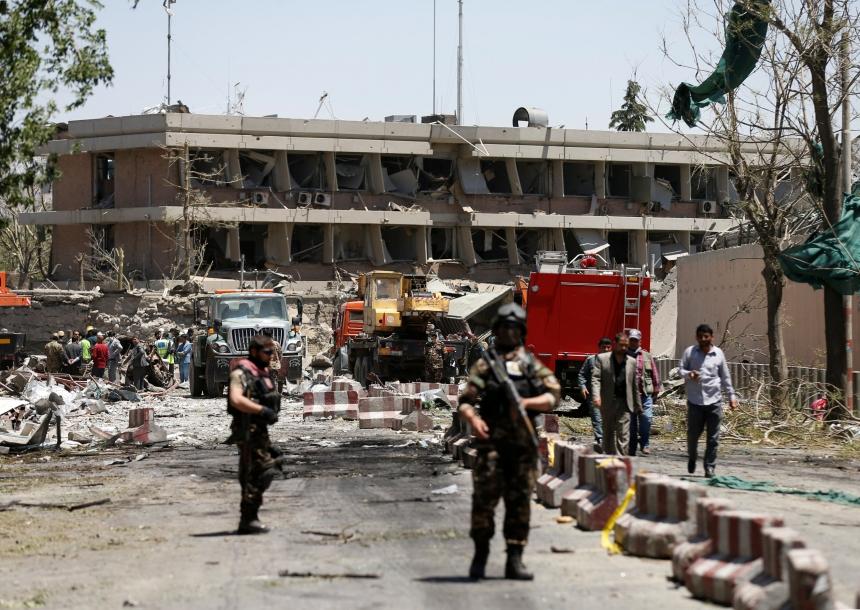 ВКабуле в итоге нападения наотель умер украинец