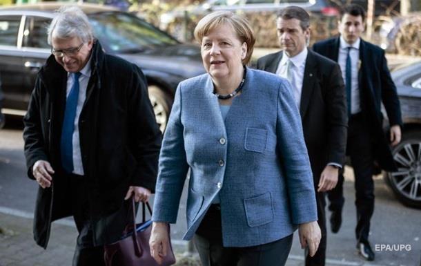 ХДС/ХСС иСДПГ пришли ксогласию осоздании коалиционного руководства