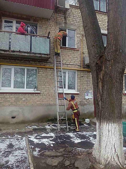 Спасатели выручали жительницу Николаева, которую на балконе закрыл трехлетний сын (фото)