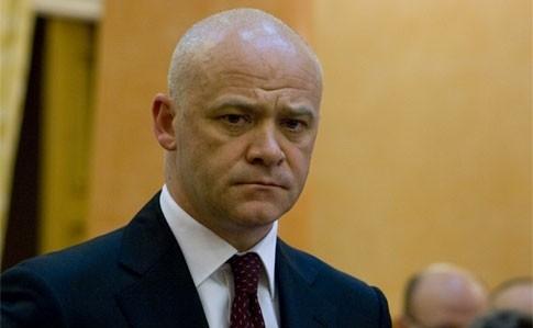 Мэра Одессы Геннадия Труханова увезли в изолятор временного содержания
