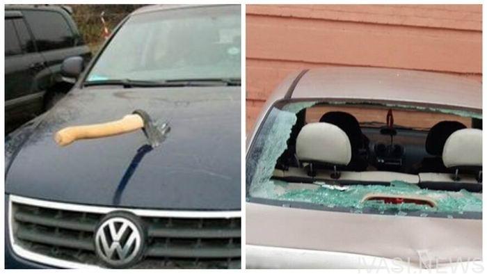 Пошкодження сокирою 13 автівок: стала відома доля дебошира