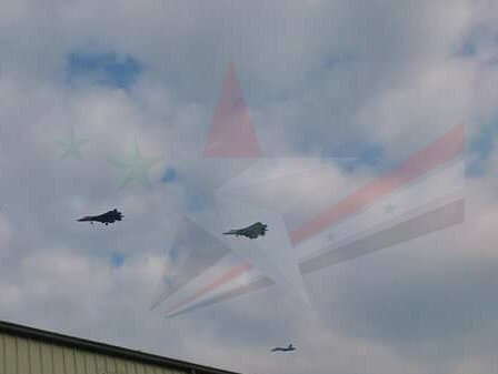 ВСирии замечены самые новые русские истребители Су-57