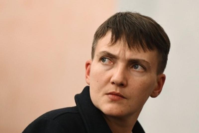У Савченко высокие покровители и уже очень давно