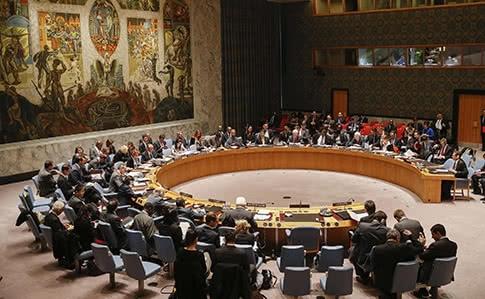 США, Англия  иФранция посоветовали  собственный  проект резолюции Совбеза ООН