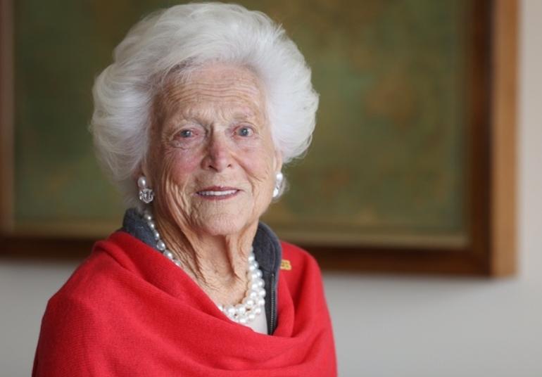 Скончалась супруга экс-президента США Джорджа Буша-старшего