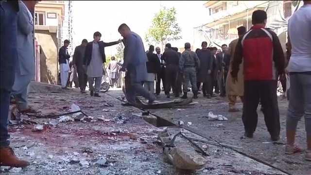 Восемь военных изРумынии были ранены при взрыве смертников вКабуле