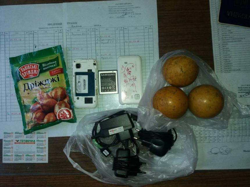 Под Южноукраинском поймали женщину при передаче запрещенных вещей в ко