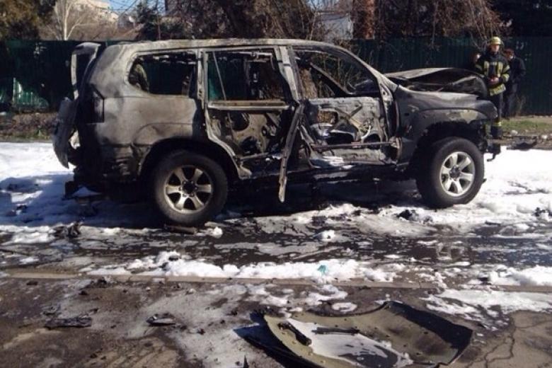 Подрыв авто полковника СБУ в Мариуполе: досудебное расследование завер