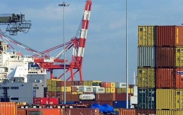 В Украинское государство ввезли товаров на $1,42 млрд. больше, чем экспортировали