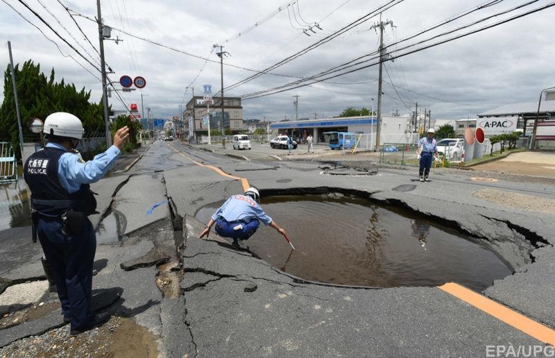Появилась информация о жертвах землетрясения в Японии