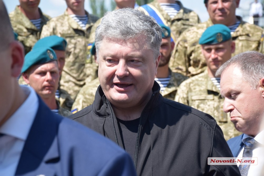 Петр Порошенко уходит срабочим визитом вПольшу