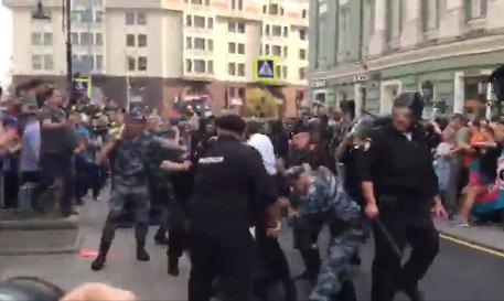 Митинг 9сентября 2018: Москва включилась вакцию против поднятия пенсионного возраста