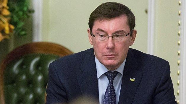 Луценко рассказал об остром разговоре с Порошенко из-за заявления об о