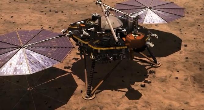 НаМарсе впервый раз зашесть лет высадится миссия NASA