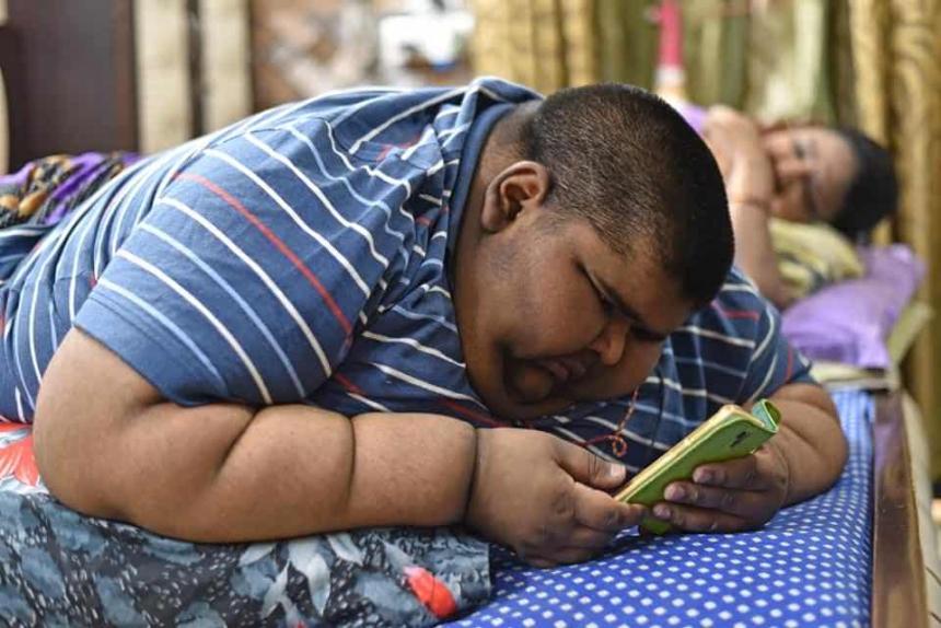 самый толстый мальчик похудел