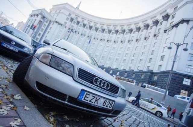 Легализация «евроблях» вгосударстве Украина - оформлена тысяча авто