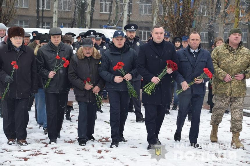 Николаевские правоохранители почтили память участников ... Иван Выговский