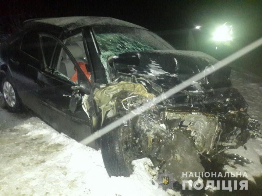 В Запорожской области на трассе произошла серьезная авария
