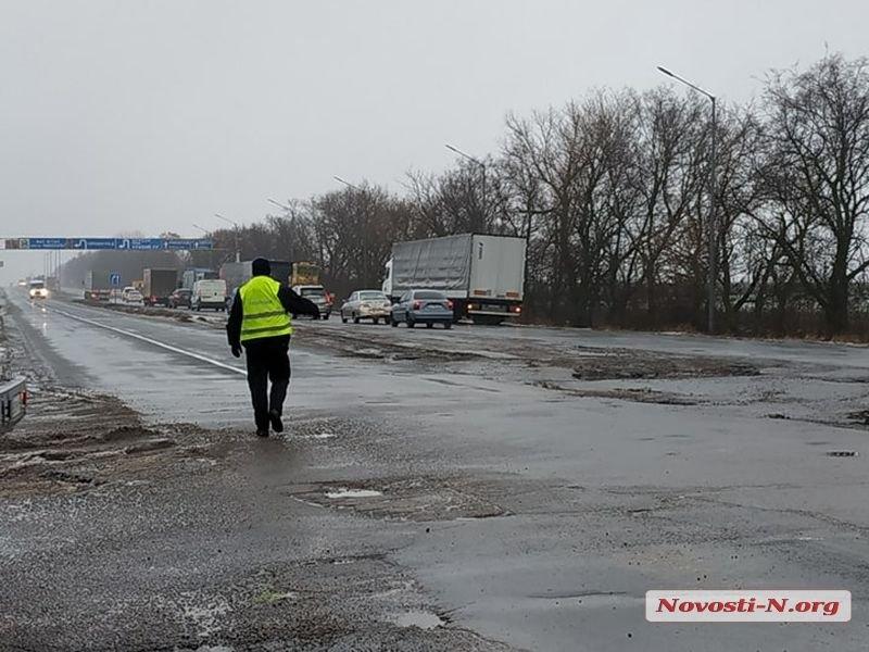 Список дорог, накоторых ограничили движение из-за непогоды