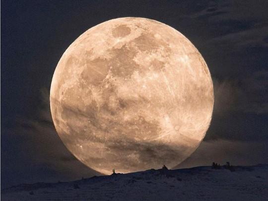 необыкновенные фото луны редкостный, чрезвычайно интересен