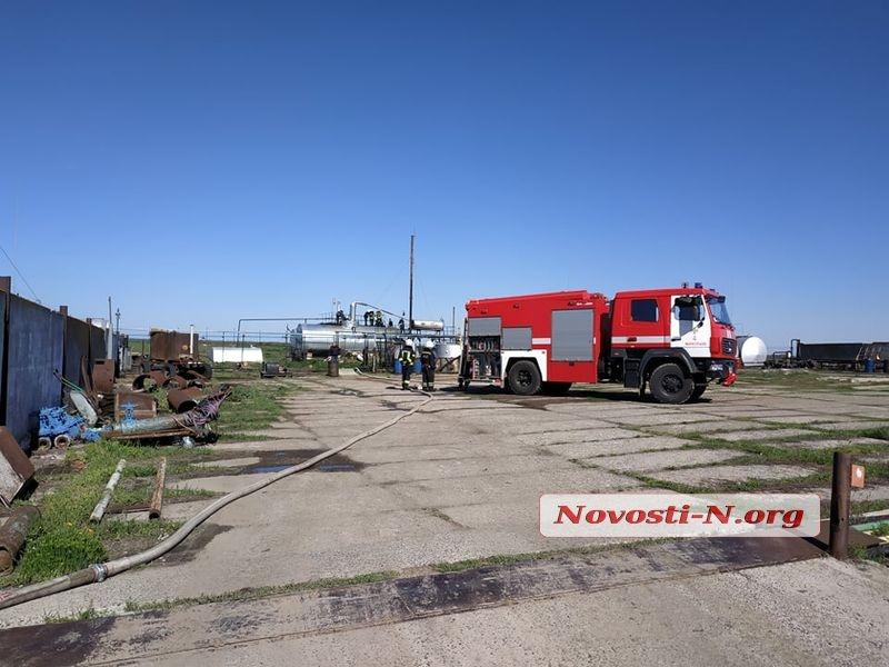 Взрыв на нефтебазе под Николаевом: 5 пострадавших. ВИДЕО