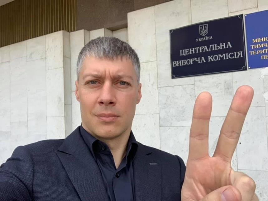 Артем Ильюк подал в ЦИК документы на регистрацию кандидатом в народные депутаты