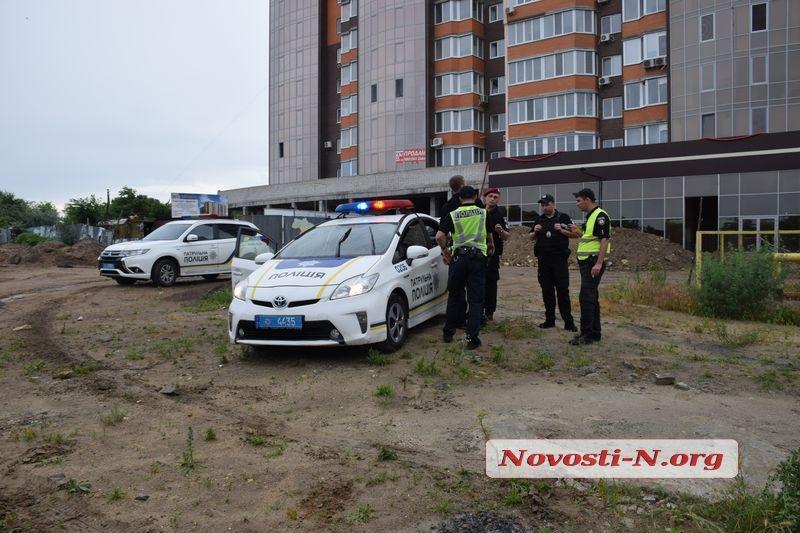 В Николаеве с погоней задержали киевских автоугонщиков
