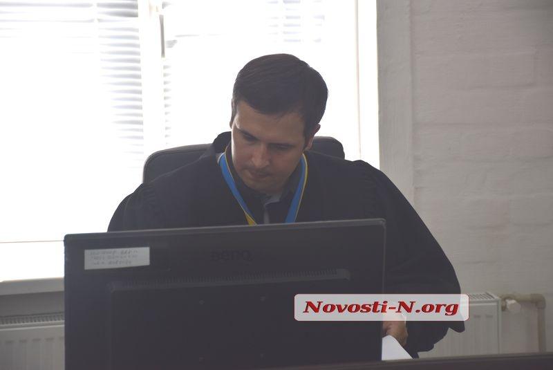 В Николаеве в очередной раз перенесли суд по Богомяткову — на этот раз его не доставил конвой