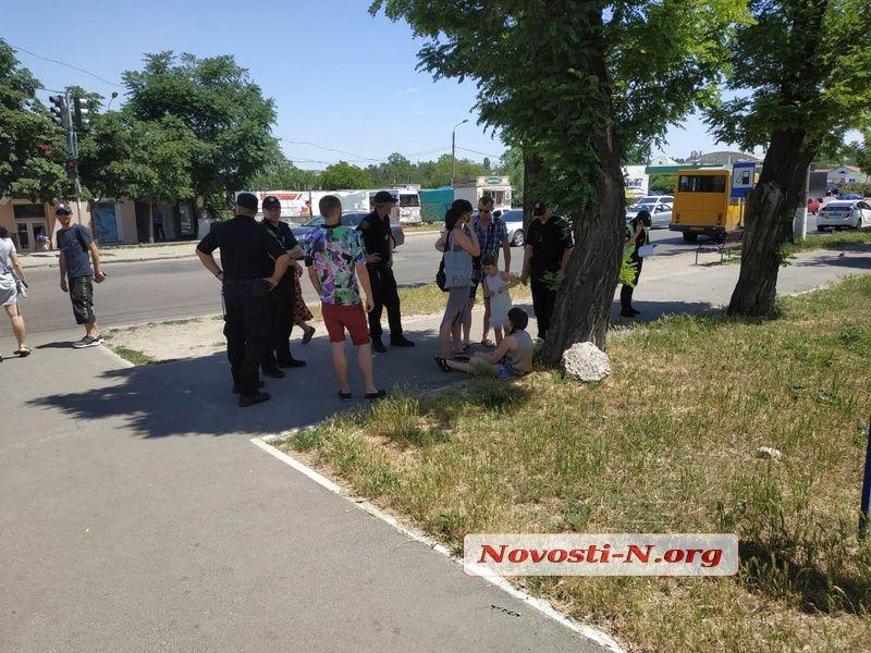 В Николаеве частная «скорая» сбила школьницу на переходе и скрылась с места ДТП