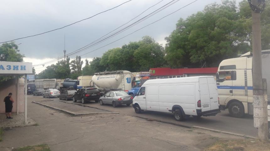 Фото из вайбер-канала «ДТП и дороги Николаева и области»