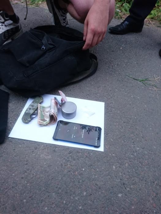 Задержанные в Николаеве с наркотиками оказались военными пограничниками
