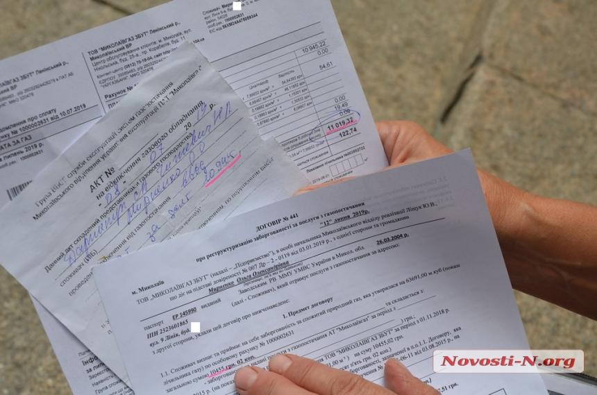 Жительница Николаева объявила под мэрией голодовку