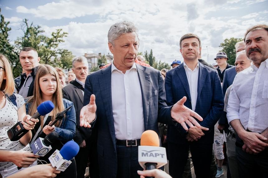 Визит Юрия Бойко в Николаев: Представление команды и встреча с рабочими «Зоря-Машпроект»