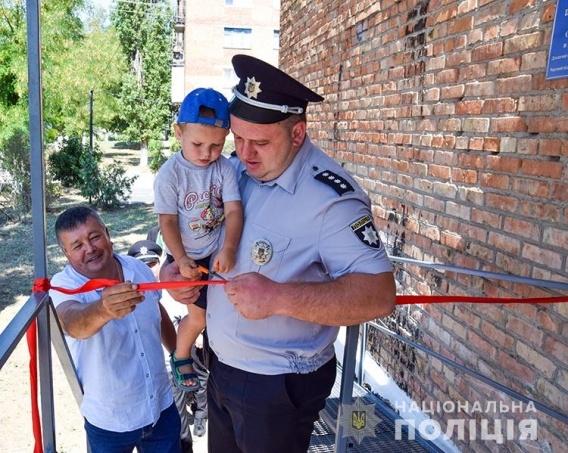 На Николаевщине открыли полицейскую станцию