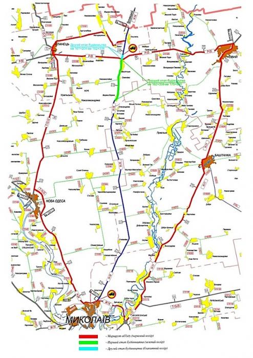 С сегодняшнего дня часть дороги Н-14 «Кропивницкий - Николаев» закрывают на ремонт