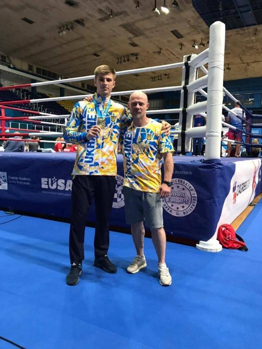 Николаевский кикбоксер стал победителем первых в истории студенческих игр по единоборствам